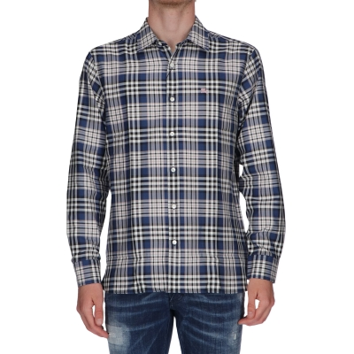Camicia Check Edward Burberry
