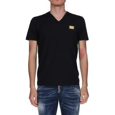 T-Shirt Dolce & Gabbana scollo a V