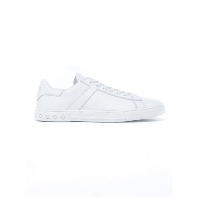 Sneaker Uomo in pelle BIANCO BIANCO