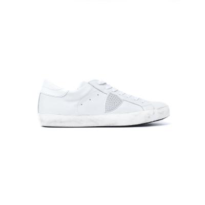 Sneaker Uomo modello Paris  Bianco Bianco